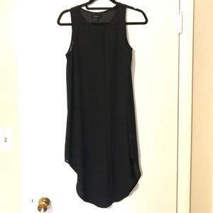 Lumiere small black sheer dress